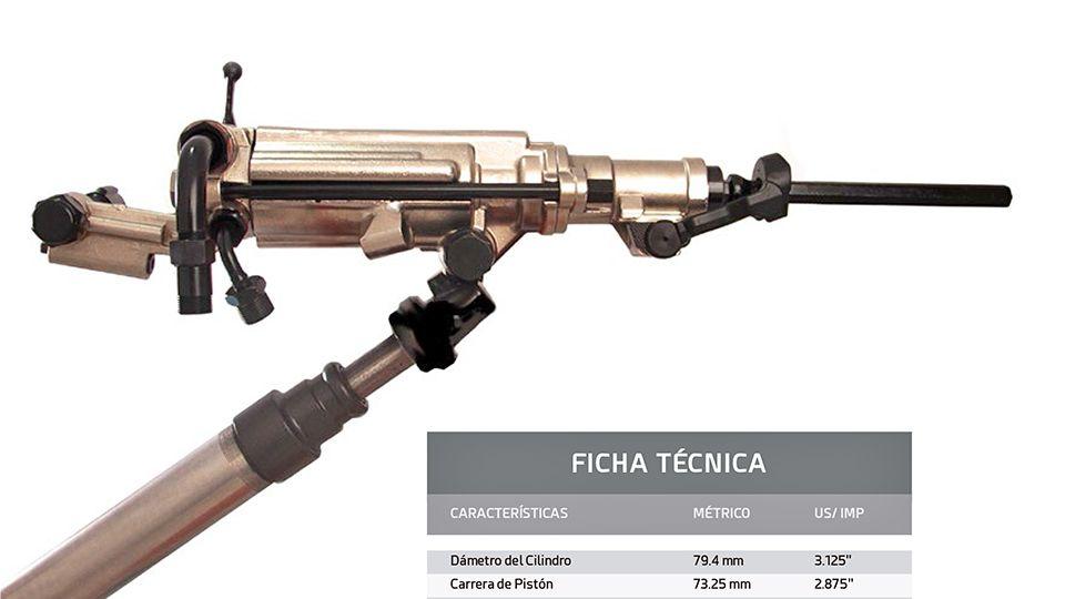 FICHA TÉCNICA ROCK DRILL RP-S250